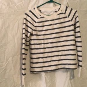 Target XS grey and off white sweater